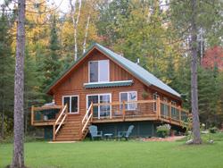 Ash Lake cabin