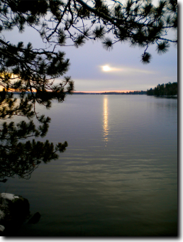December 2009 on Lake Vermilion