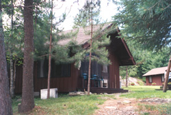 Elbow Lake cabin