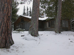 Gold Island cabin