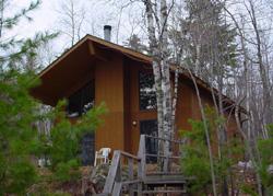 Niles Bay cabin