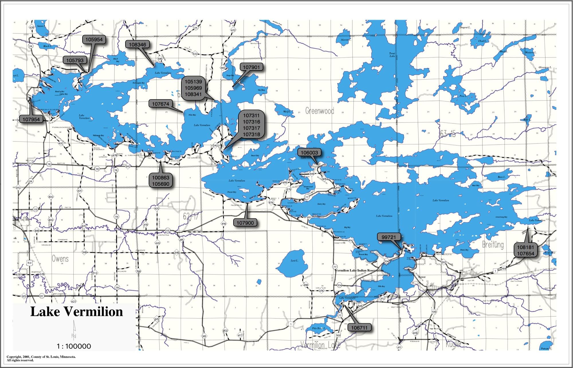 Lake Vermillion Minnesota Map.Lake Vermilion Real Estate Minnesota Lake Cabins Homes And Land
