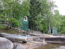 Myrtle Lake cabin