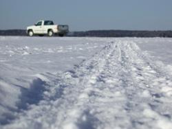 Truck-on-ice