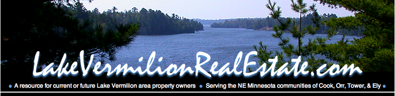 Lake Vermilion Real Estate .com - Minnesota real estate featuring Lake Vermilion area property news and information